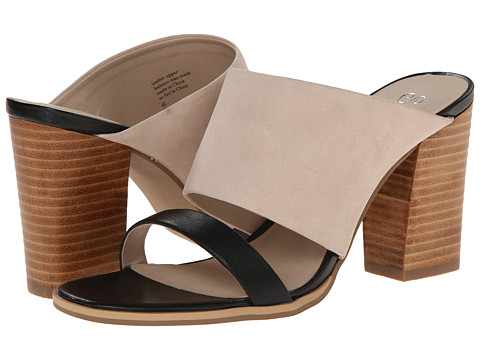 Seychelles - Lyra (Black/Nude) Women's Sandals