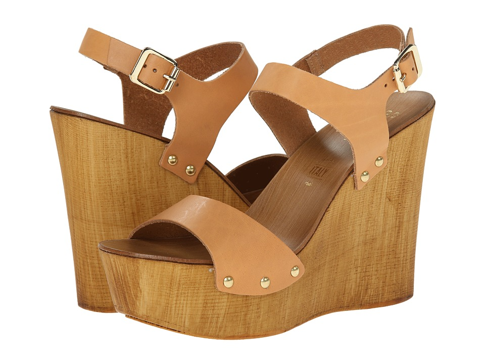 Seychelles - Carina (Tan) Women's Wedge Shoes