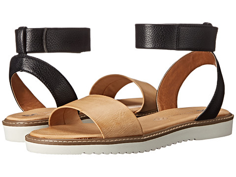 BC Footwear - Jaguar (Black/Tan) Women's Sandals