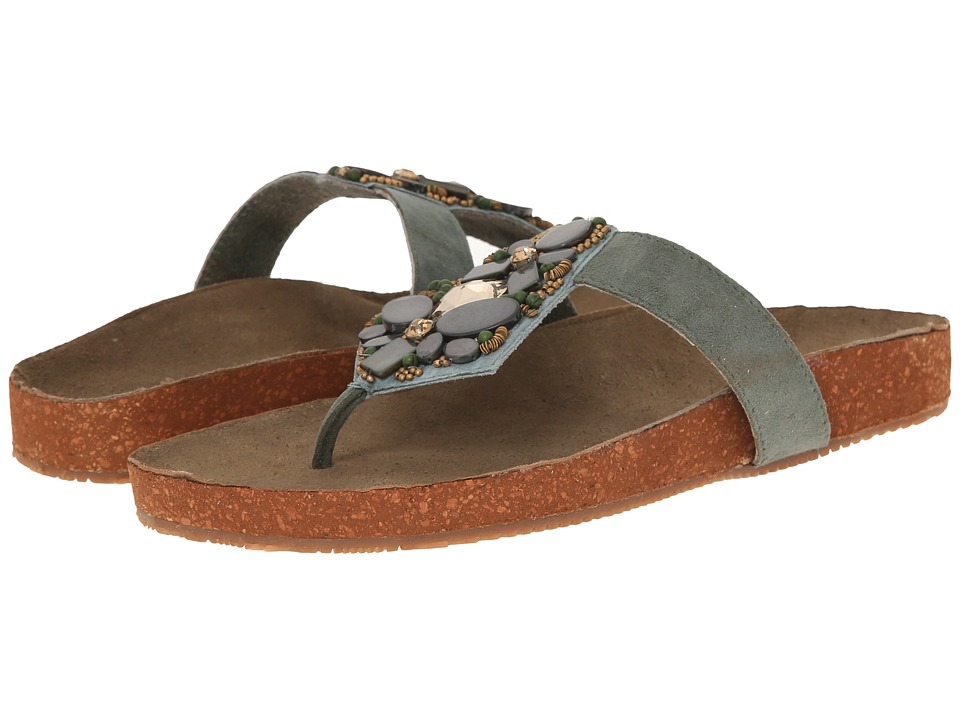 Seychelles - Gemini (Green/Stone) Women's Sandals