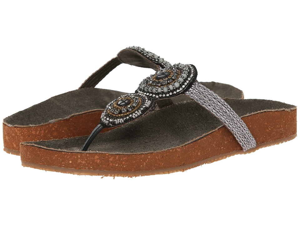 Seychelles - Gemini (Grey/Beads) Women's Sandals