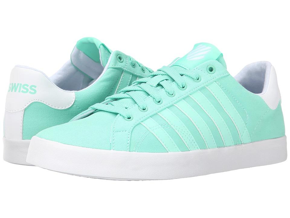 K-Swiss - Belmont SO T (Cabbage/White) Women's Tennis Shoes