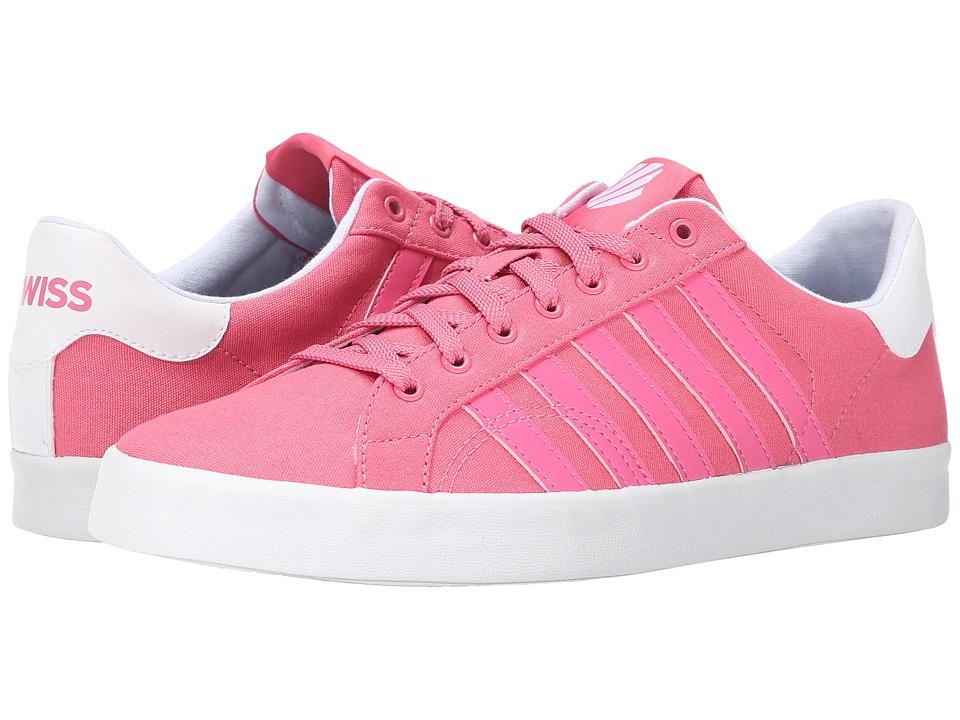 K-Swiss - Belmont SO T (Bubblegum/White) Women's Tennis Shoes