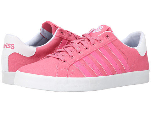 K-Swiss - Belmont SO T (Bubblegum/White) Women's Tennis Shoes