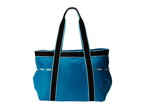 LeSportsac Luggage - Gym Tote (Turquoise Fit) Tote Handbags