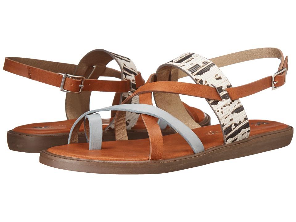 BC Footwear - Ragdoll (Light Blue/Whiskey) Women's Sandals