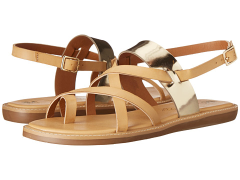 BC Footwear - Ragdoll (Vacchetta/Gold) Women's Sandals