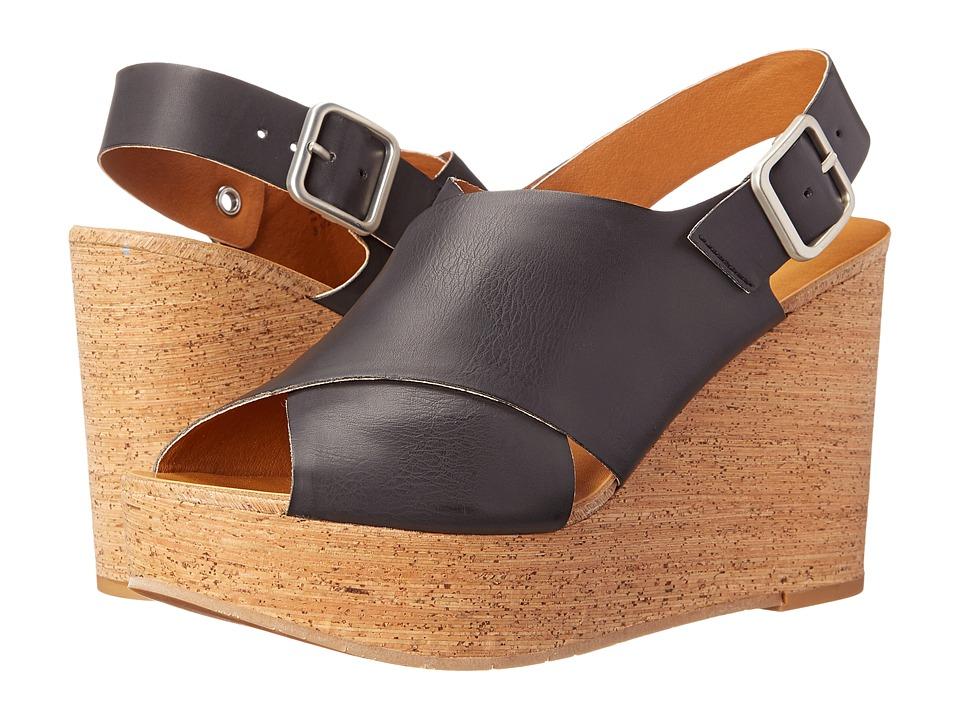 BC Footwear - Cougar (Black) Women's Wedge Shoes