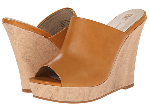BC Footwear - Terrier (Tan) Women's Wedge Shoes