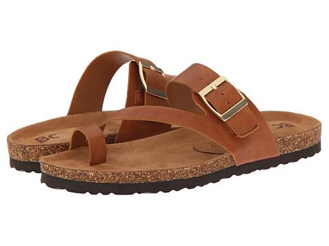 BC Footwear - Boxer (Cognac) Women's Sandals