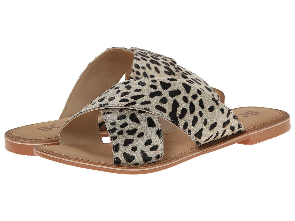 BC Footwear - Dear (Leopard Ponyhair) Women's Sandals