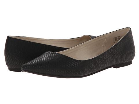 BC Footwear - Rebel (Black Snake) Women's Flat Shoes