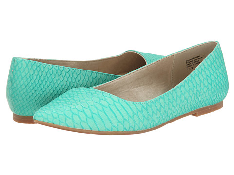 BC Footwear - Rebel (Sea Green Snake) Women's Flat Shoes