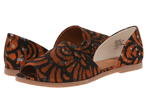 BC Footwear - Happy As A Clam (Orange Della Print) Women