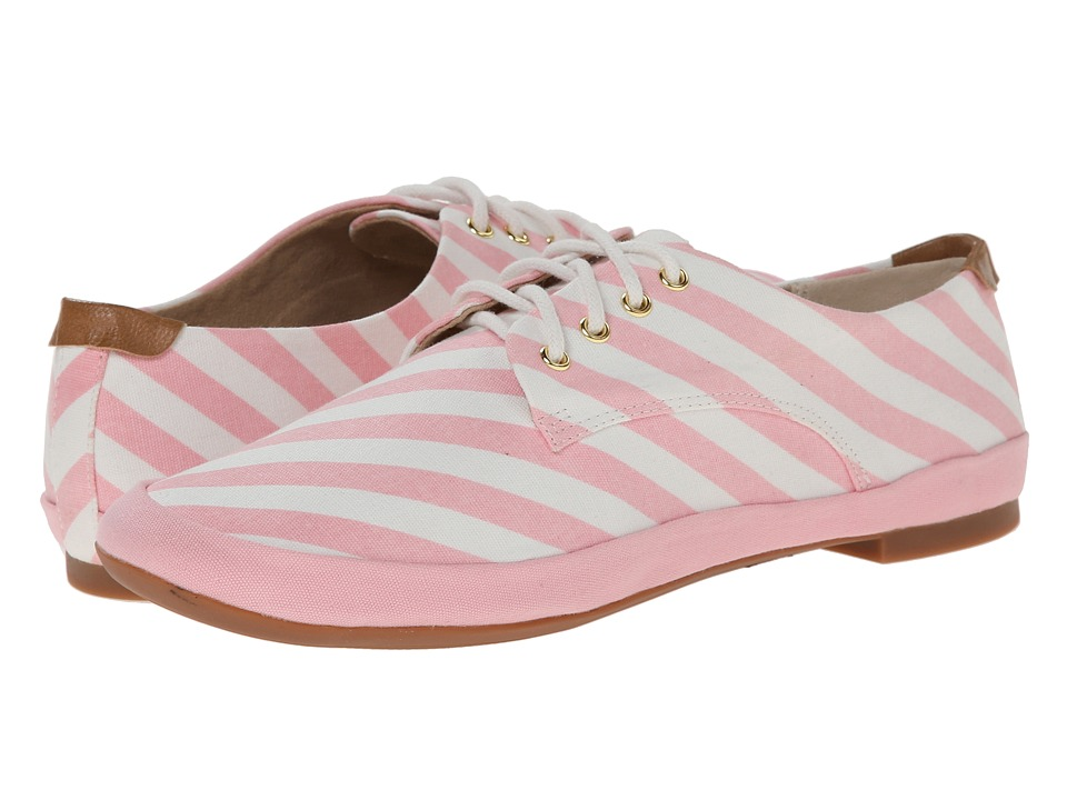 BC Footwear - Unicorn (Light Pink Stripe) Women's Lace up casual Shoes