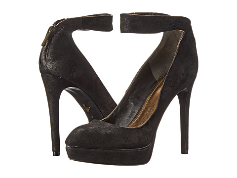Pour La Victoire - Avi (Black Shimmer Suede) High Heels