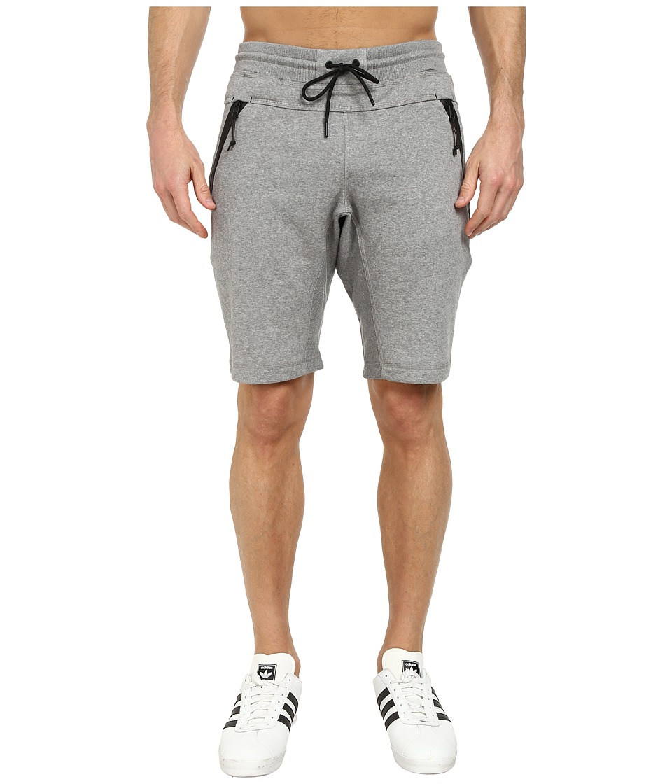 adidas Originals - Sport Luxe Fleece Short (Core Heather/Black) Men's Shorts