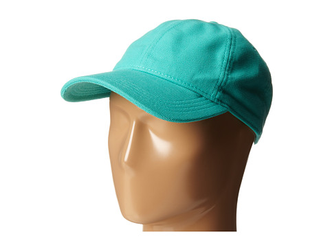 Lacoste - Cotton Pique Cap (Green) Caps