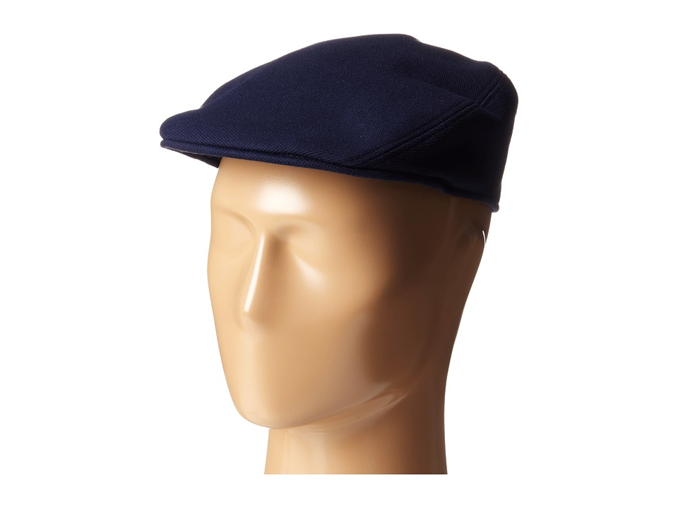 Lacoste - Pique Flat Hat (Navy Blue) Caps