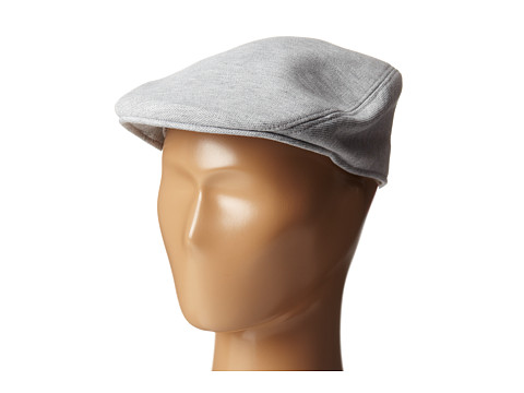 Lacoste - Pique Flat Hat (Silver Grey Chine) Caps