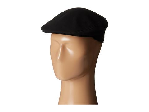 Lacoste - Pique Flat Hat (Black) Caps