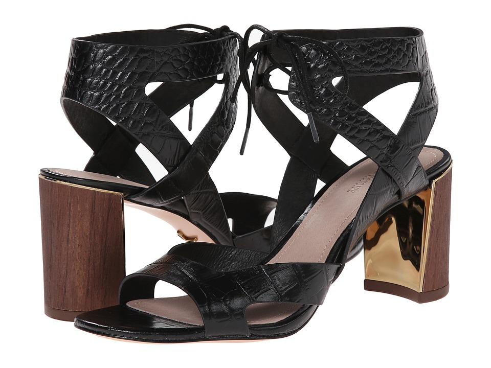 Pour La Victoire Parsa (Black Croco) High Heels
