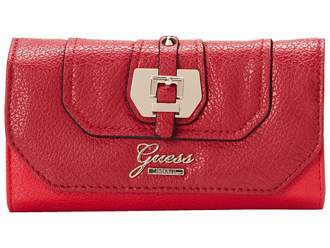 GUESS - Confidential Slim Clutch (Lipstick Multi 1) Clutch Handbags