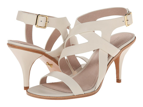 Pour La Victoire - Maura (Cream Polished Calf) High Heels