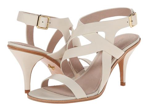 Pour La Victoire - Maura (Cream Polished Calf) High Heels