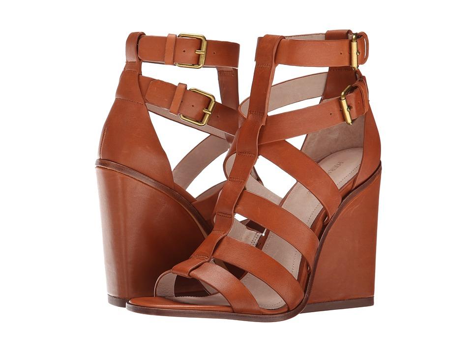 Pour La Victoire - Cecile (Cigar Calf) Women's Wedge Shoes