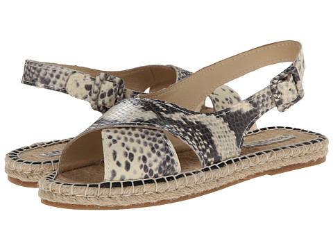 Pour La Victoire - Olivia (Natural Snake Print) Women's Sandals