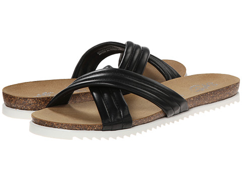 Seychelles - Dusk (Black Leather) Women's Sandals