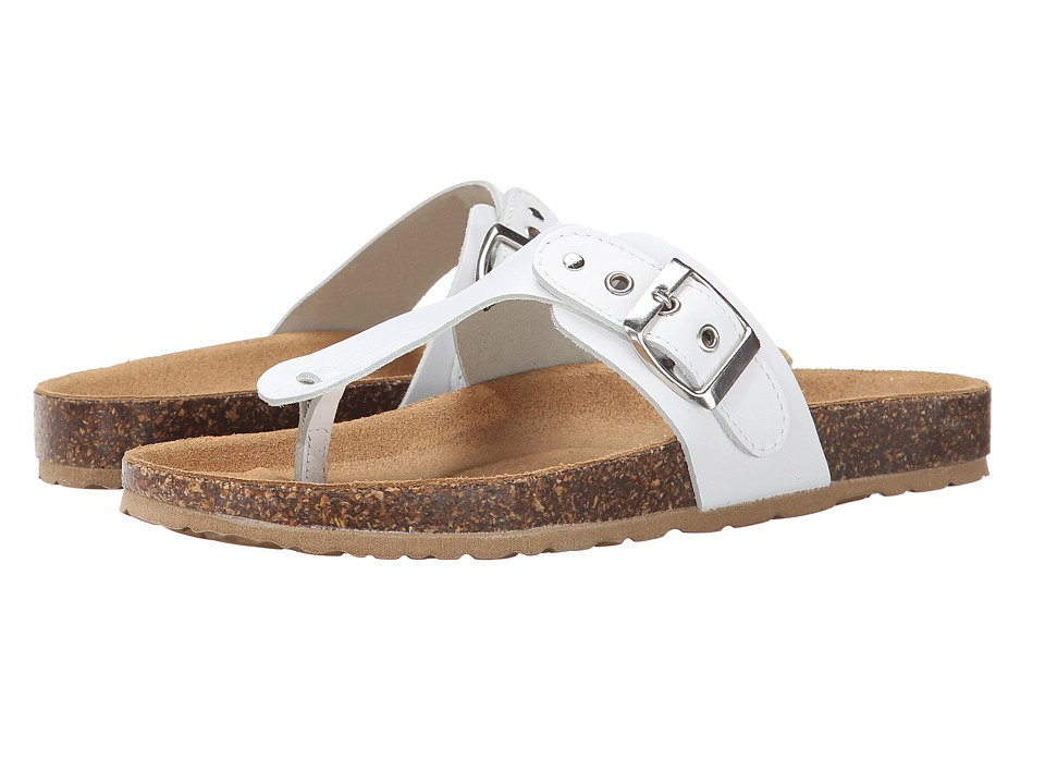 Seychelles - Halcyon Days (White Leather) Women's Sandals