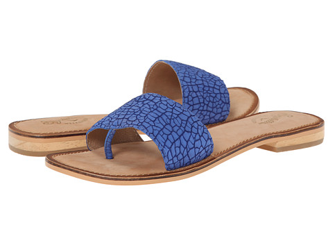 Seychelles - Smooth Operator (Electric Blue Crackle) Women's Sandals