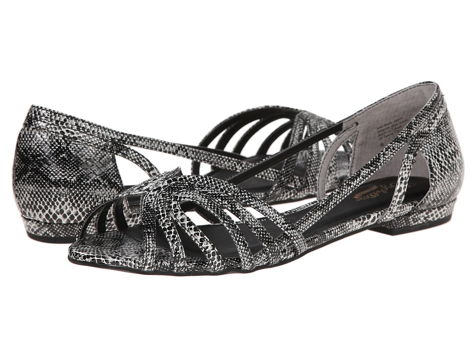 Seychelles - Would I Lie? (Black/White) Women's Flat Shoes