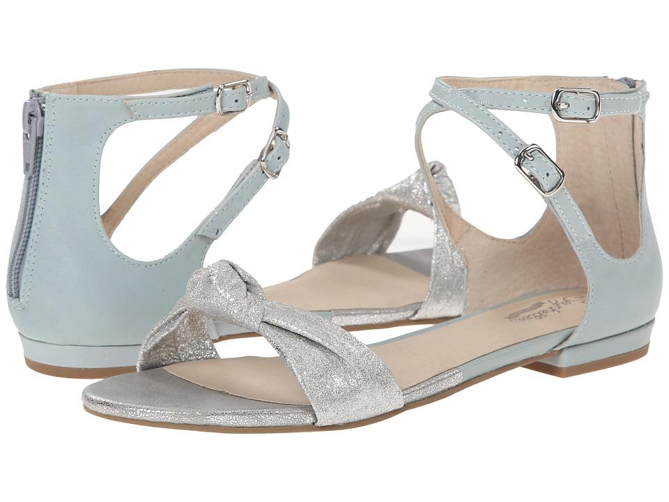 Seychelles - I've Got A Secret (Silver/Light Blue) Women's Sandals