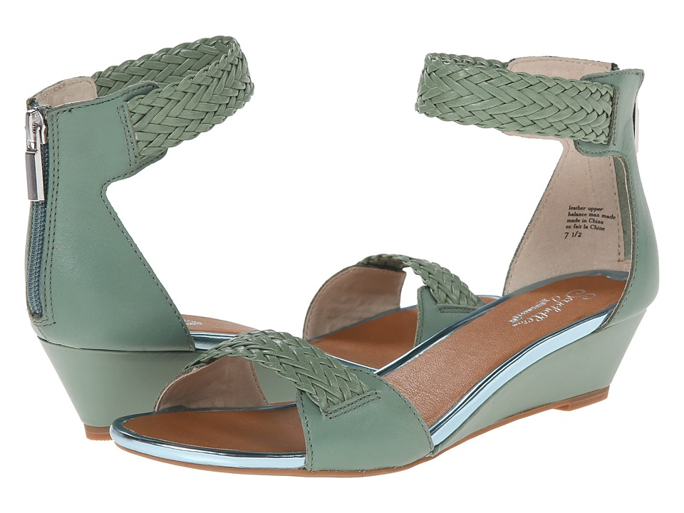 Seychelles - Spelling Bee (Seafoam) Women's Wedge Shoes
