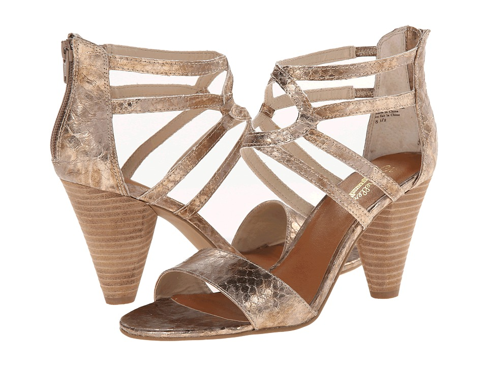 Seychelles Have I Got News (Rose Gold Snake) High Heels