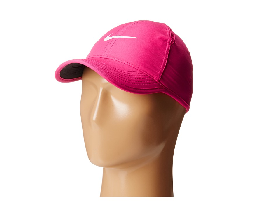Nike - Featherlight Cap (Vivid Pink/Black/Vivid Pink/White) Baseball Caps