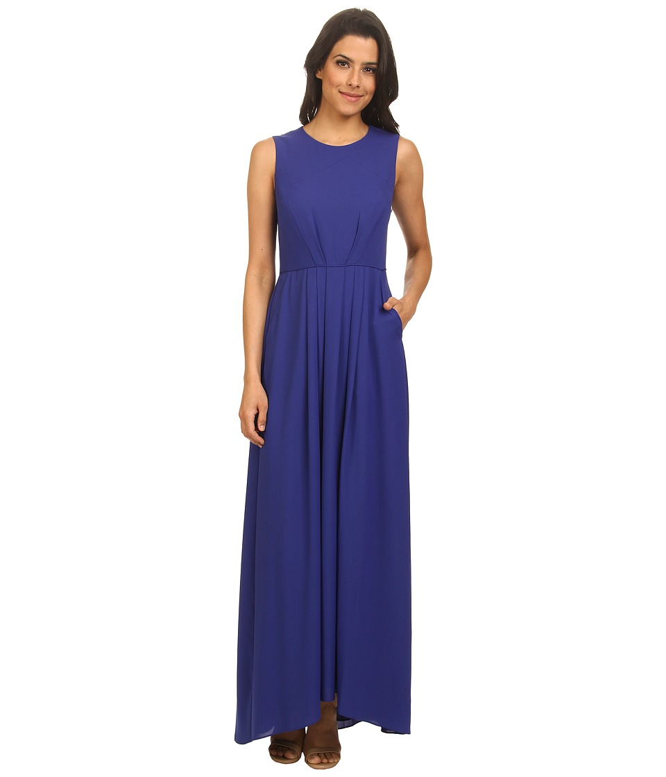 Shoshanna - Mabrey Maxi Gown (Royal Blue) Women's Dress