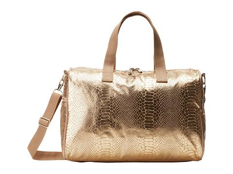 LeSportsac - Melanie (Gold Foil Snake) Satchel Handbags