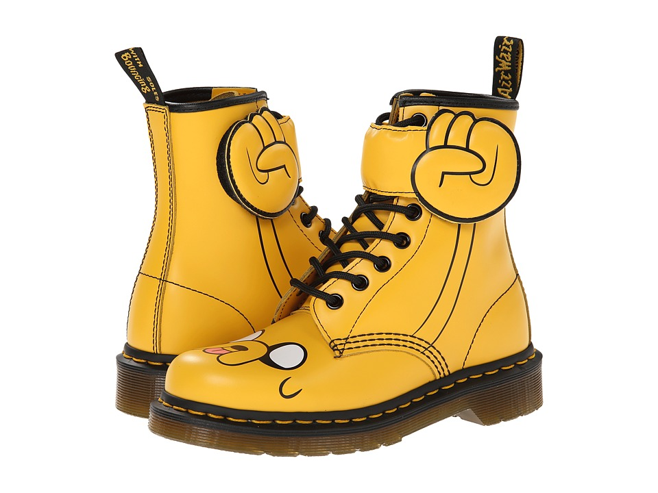 Dr. Martens Jake Boot (Yellow) Lace-up Boots