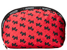 LeSportsac Medium Dome Cosmetic (Scotty Dot Red)