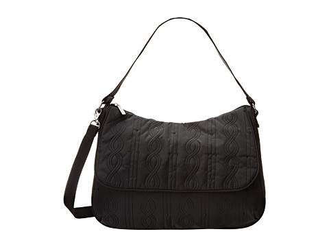 LeSportsac - Camille (Black Entwine) Satchel Handbags