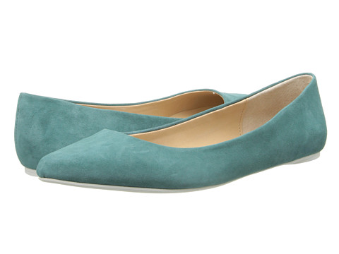Joe's Jeans - Kitty III (Sage Teal) Women's Flat Shoes