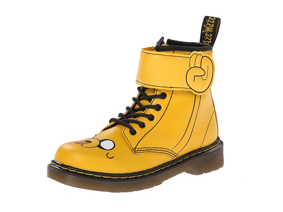 Dr. Martens Kid's Collection - Adventure Time Jake D (Little Kid) (Yellow Softy T) Kids Shoes