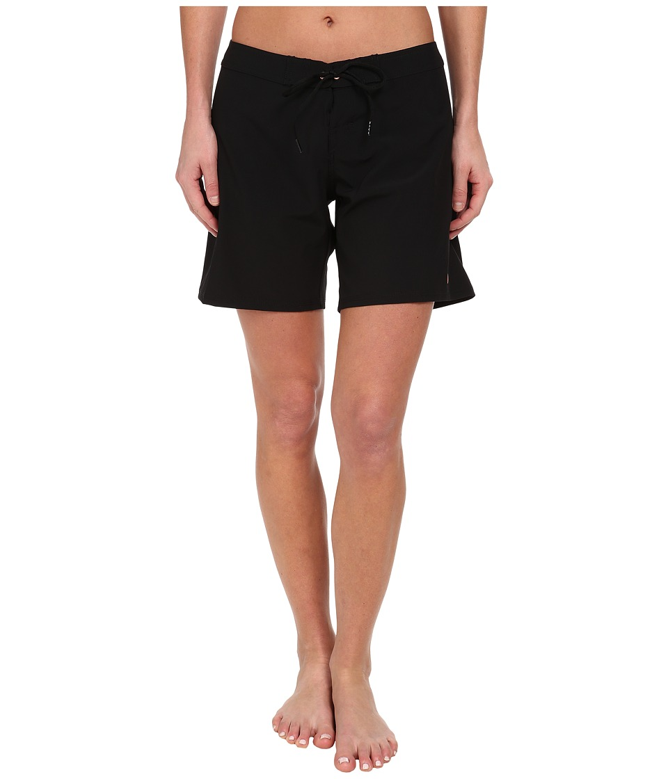 Roxy - Classic 7 Boardshort (True Black) Women's Swimwear