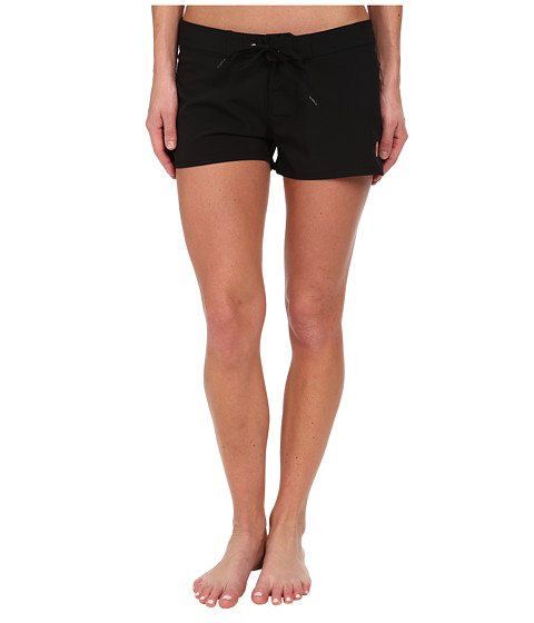 Roxy - Classic 2 Boardshort (True Black) Women's Swimwear