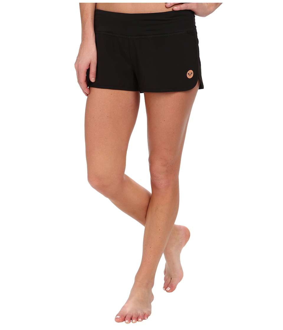 Roxy - Cruisin 2 Boardshort (True Black) Women's Swimwear