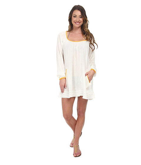 Roxy - Sweet Tropics Dress Cover-Up (Sea Spray) Women's Swimwear